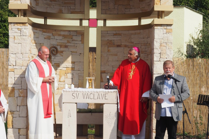 Svobodný sedlák postavil kapli patrona českého národa sv. Václava
